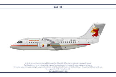 Bae 146 Malmo Aviation by WS-Clave