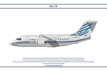 Bae 146 Air Botswana by WS-Clave