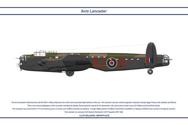 Lancaster GB 617 Squadron 6 by WS-Clave