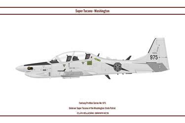 Fantasy 975 Tucano Washington State Patrol by WS-Clave