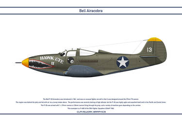 Airacobra USA 35th Fighter Squadron by WS-Clave