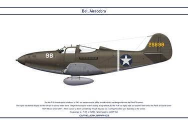 Airacobra USA 58th Fighter Squadron by WS-Clave
