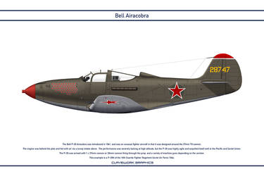 Airacobra USSR 16th Guards Fighter Regiment by WS-Clave