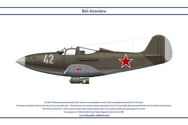 Airacobra USSR 28th Guards Fighter Regiment by WS-Clave