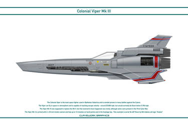Colonial Viper Mk 3 407 by WS-Clave