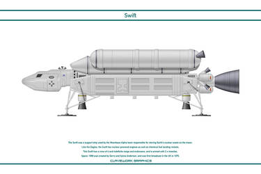 Space 1999 - Swift 1 by WS-Clave