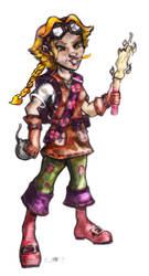 Gnome Alchemist by Syreene