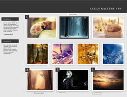 Clean Gallery CSS v.3 by SimplySilent