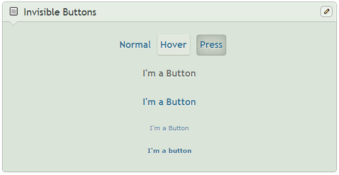 Sneaky Invisible Buttons by SimplySilent