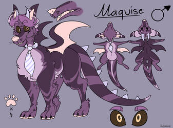 Maquise (Ref Commission) by BeastOfEuthanasia