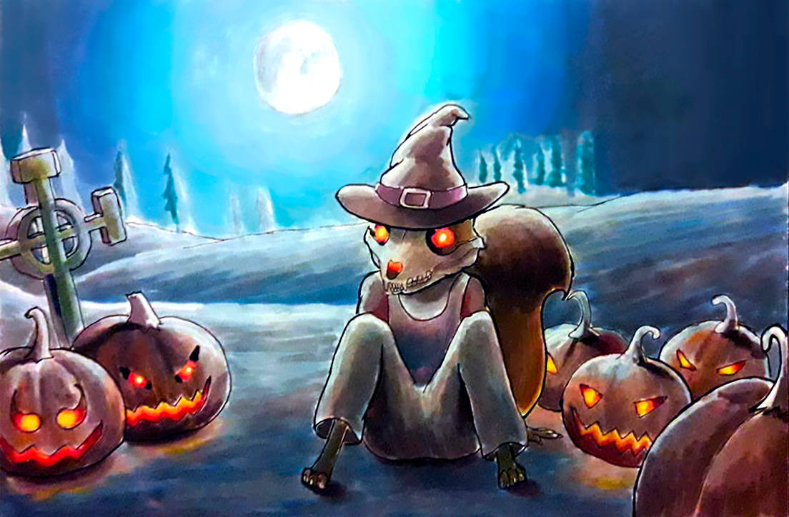 Fur-ktober FINAL Day 15: Halloween by edd-xsagi