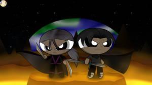 Bleak And Bane (Fanart) by Pinkycandypie