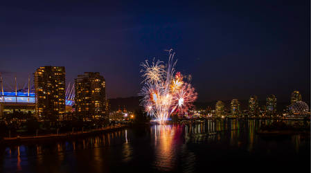 False Creek Fireworks by insomniac199