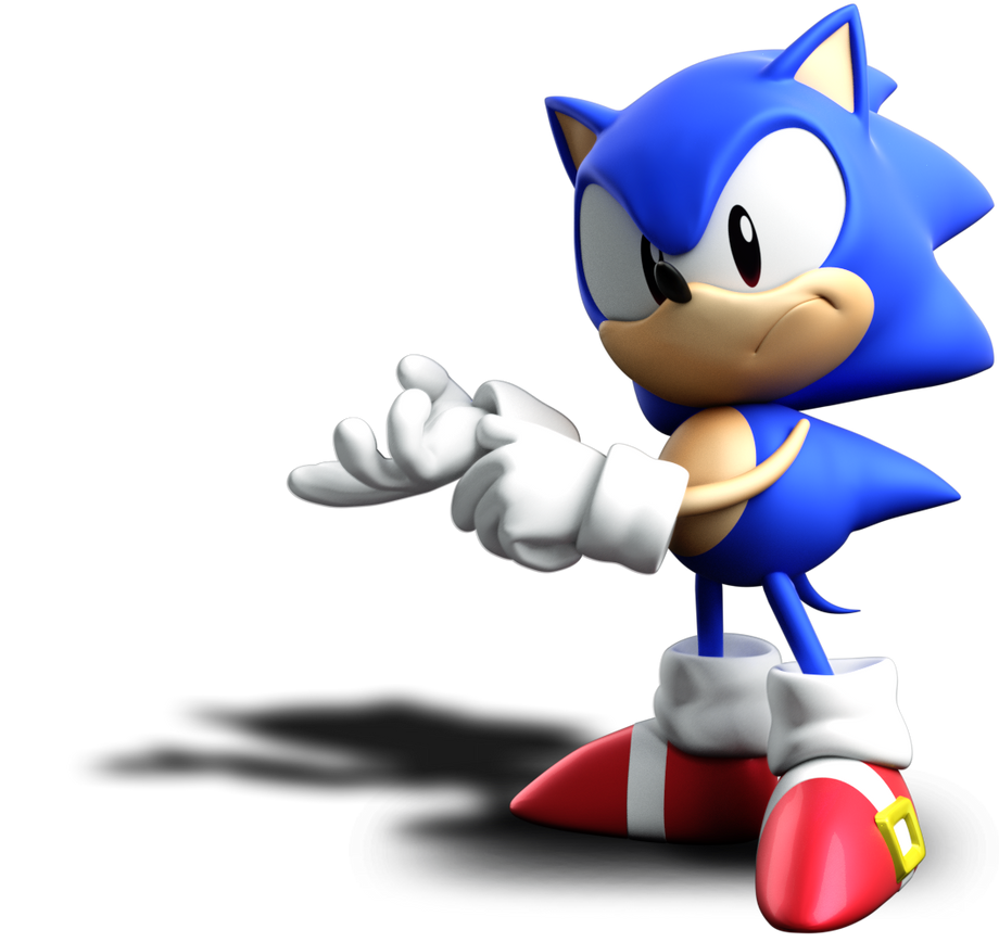 Sonic Finger Wag Pose Wwwmiifotoscom