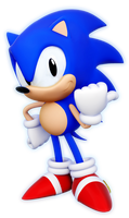 Sonic 2 HD(3D) by ModernLixes