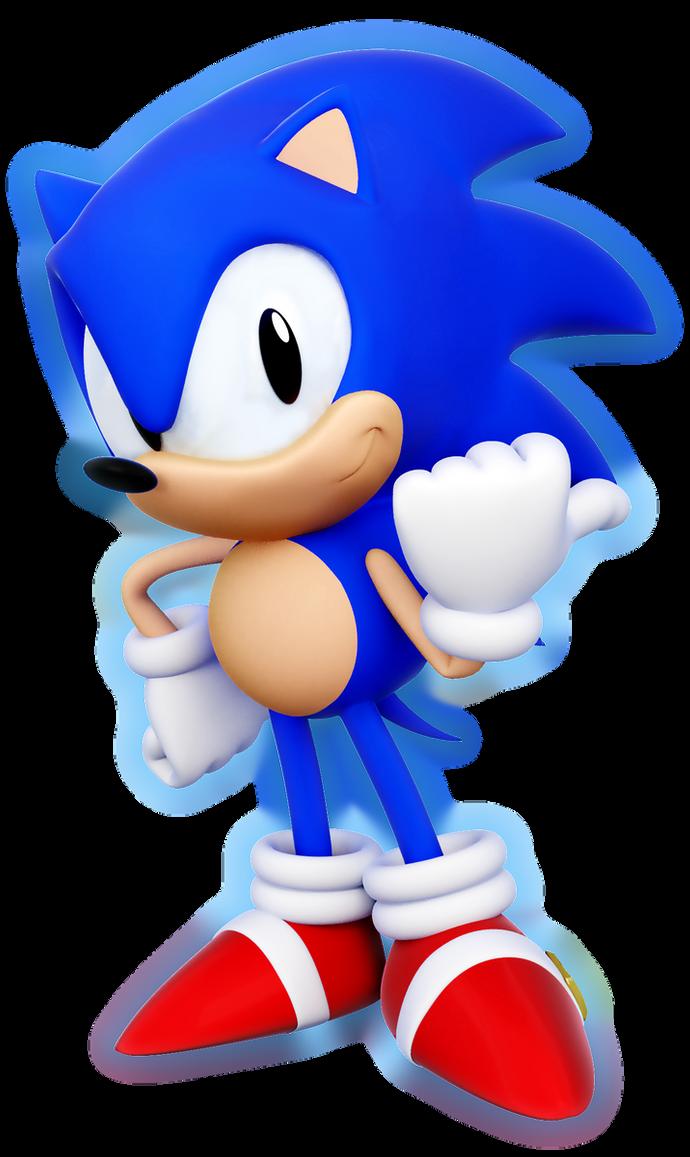Sonic 2 HD(3D) by ModernLixes on DeviantArt