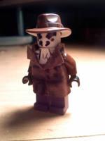 Watchmen Lego Rorschach by jackups