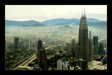 Kuala Lumpur II by Aukon