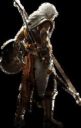 Assassins Creed Origins Bayek Render PNG by PrussiaPoland