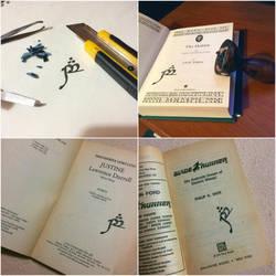 Elvish Book Stamp by AsliBayrak