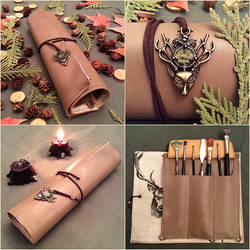 Leather Scroll of Wilderness by Faunwand