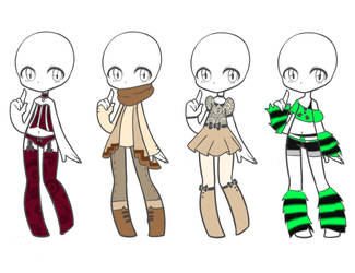 Outfit Adopts 18 *Closed* by Canaddicted