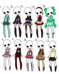 Outfit Adopts 19 *Closed* by Canaddicted