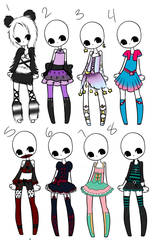 Outfit Adopts 20 *closed* by Canaddicted