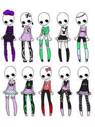 Outfit Adopts 21 *OTA* //Reduced AB! by Canaddicted