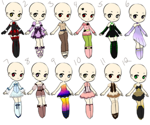 Outfit Adopts 24 *Closed* by Canaddicted