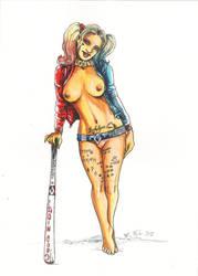 Harley Quinn by tejlor