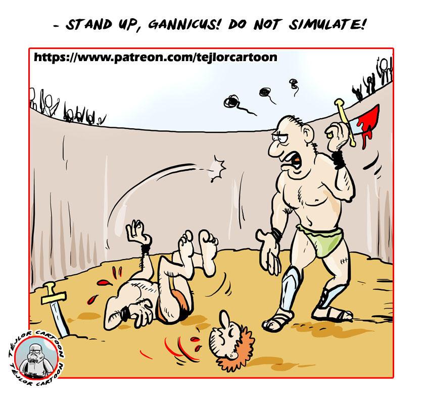 Gladiators by tejlor