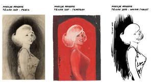 Marilyn Monroe by tejlor