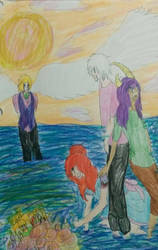 The Ocean Funeral by mothepro