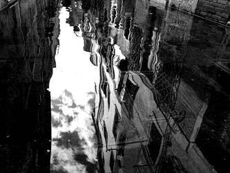 upsidedown rain by lumihiutale