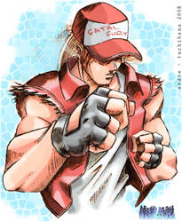 Fatal fury - Terry Bogard by andre-tachibana