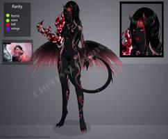 (closed) AuctionAdopt: Deus Mortis 5 by CherrysDesigns