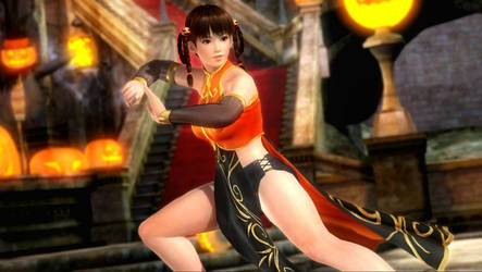 My winner outfit  for Dead or Alive 5 - Full view by CherrysDesigns