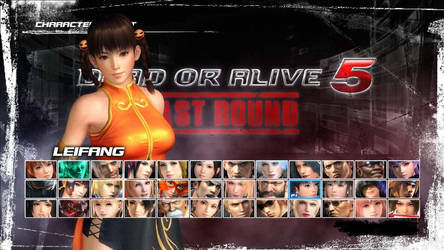 DOA5LR - Character Select View -Leifang by CherrysDesigns