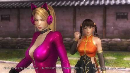 My Outfit Design for Sarah and Leifang: DOA5:LR by CherrysDesigns