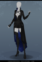 (closed) Auction Adopt - Outfit 616 by CherrysDesigns