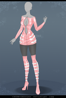 (closed) Auction Adopt - Outfit 623 by CherrysDesigns
