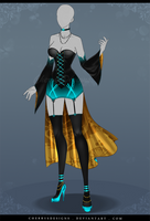 (closed) Auction Adopt - Outfit 625 by CherrysDesigns