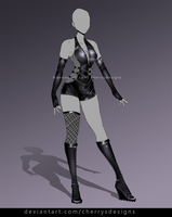 closed (24H AUCTION) - Outfit Adopt 885 by CherrysDesigns