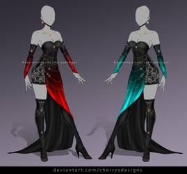 closed  (24H AUCTION) - Outfit Adopt 900 by CherrysDesigns