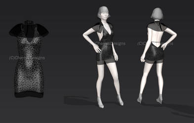 1st attempt at 3D outfit designing + ANNOUNCEMENT! by CherrysDesigns
