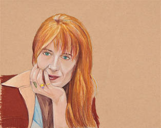 Florence Welch (Colored Pencil Drawing) by julesrizz