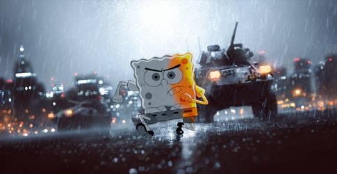 Sponge Boblefield by SkeeTls