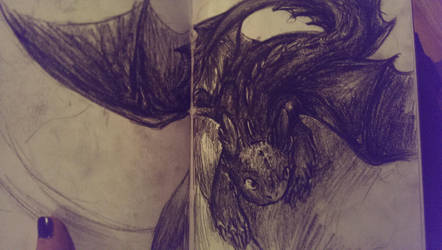 boredome and charcoal by Wind21