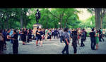 Dancing In Central Park by ZombieDollTV